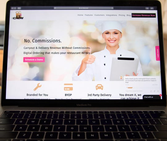 The Louisville-based EZ-Chow e-commerce platform facilitates online ordering so restaurants can make more profit.