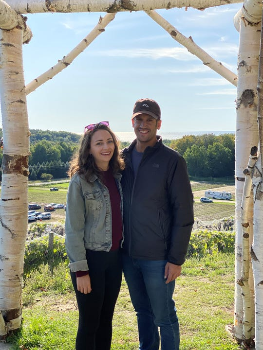 Abby Adair and Zach DiGia pose for a photo in September 2019.