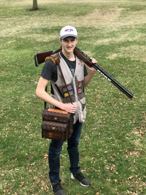 Clear Fork High School sophomore Alex Pore ranks among the top trap shooters in Ohio.