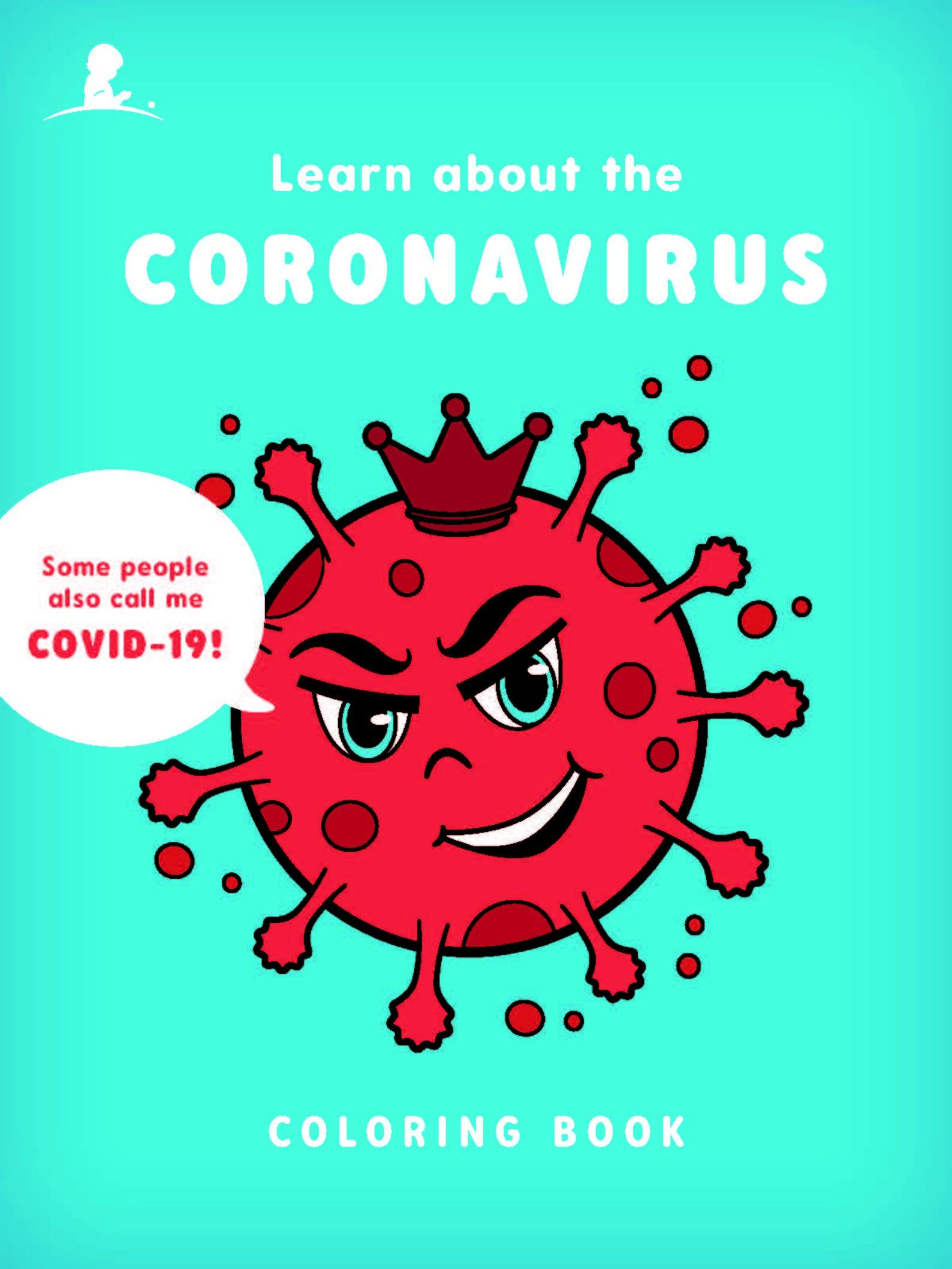 St. Jude Coronavirus coloring book