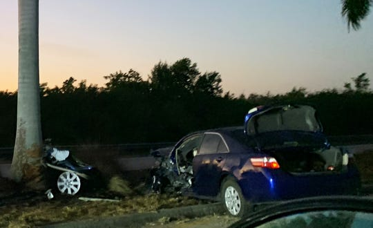 An accident just after 6 a.m., Monday, on Collier Boulevard closed traffic Monday morning for over a half hour and kept it bumper to bumper for around an hour after.