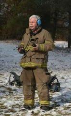 Newton Townnship Fire Chief Jim Glover