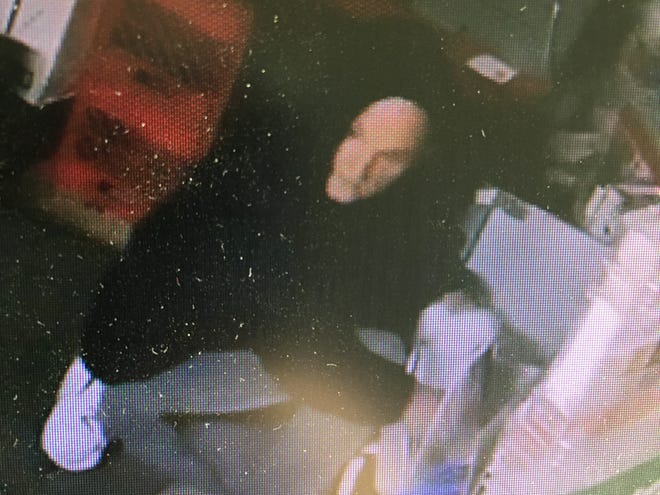 Newark police say in March, a man broke into the MC Market on North Cedar Street, stealing cash, cigarettes and alcohol.