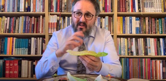 Chanoch Kaplan of Chabad Jewish Center of Northwest Bergen County is offering a two-part tutorial on YouTube so families separated from their traditional seder leaders by the coronavirus can step in looking like pros.