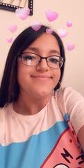 Leilani Sanchez, 18, is a senior ar at Gadsen High School.