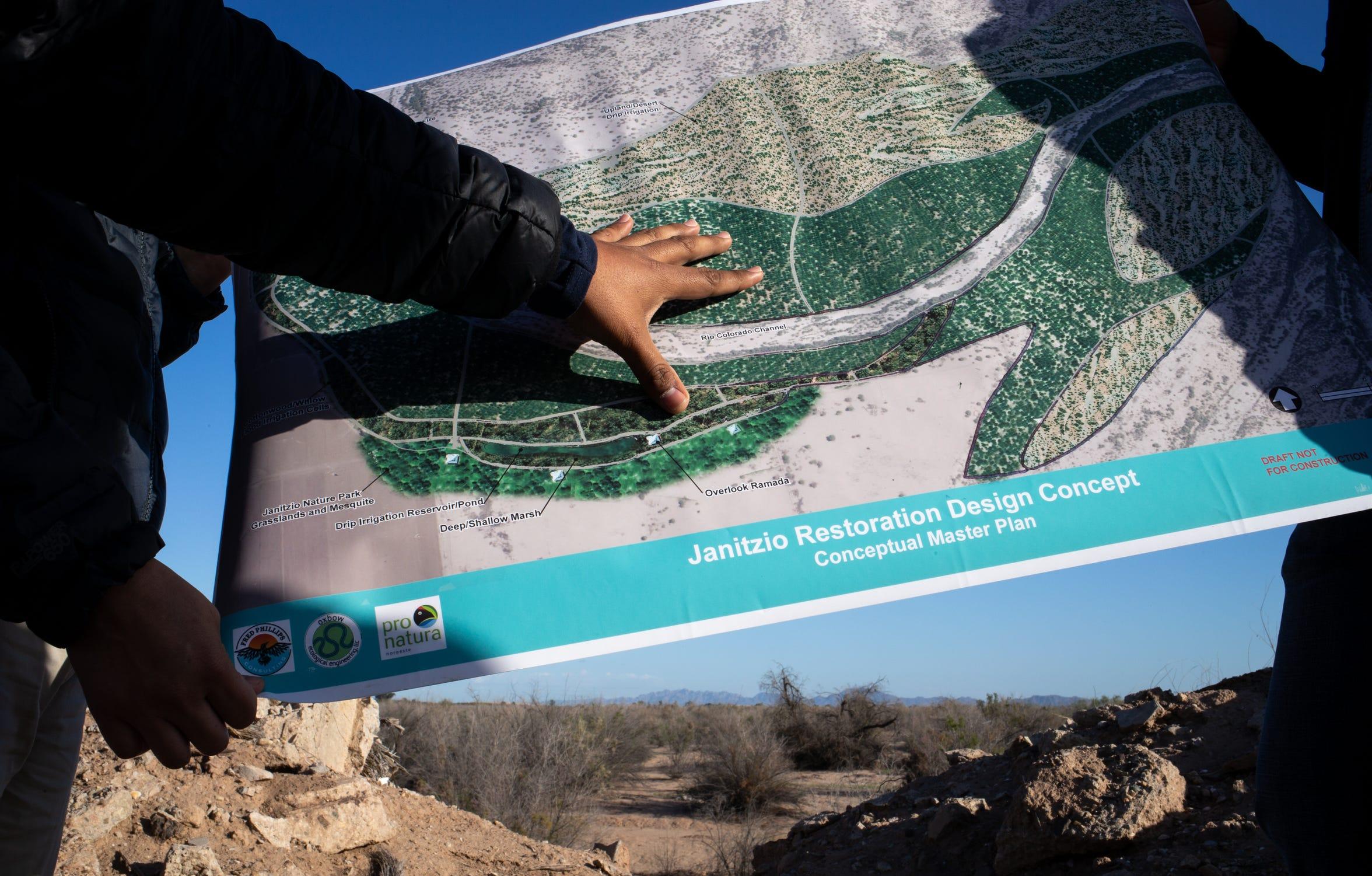 Alberto Ruiz de Pronatura Noroeste habla sobre el sitio propuesto para la restauración de Janitzio en Baja California, México.