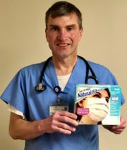 Dr. Leo Motter, who works at York Hospital,  received a surprised one evening last week when a neighbor tossed a box of much-needed surgical masks on the porch of his Springettsbury Township home.