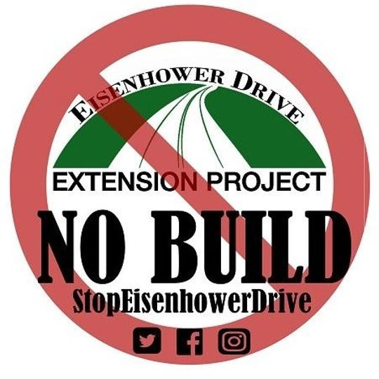 Ted Evgeniadis, Lower Susquehanna Riverkeeper, opposes the Eisenhower Drive Extension Project.