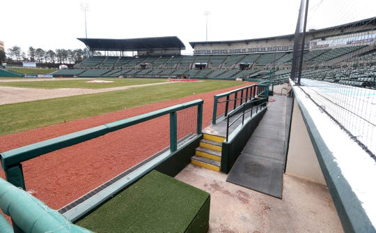 There is a new field installed at Frontier Field.  The home opener was set for April 9 but has been postponed due to the coronavirus outbreak.