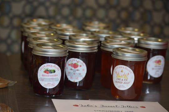 Lulu's Jams & Jellies is one of the businesses that is selling product at From the Hearth's Churn Creek Road location in Redding.