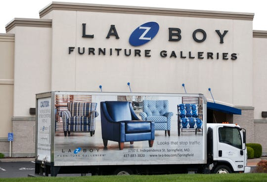 The La-Z-Boy Furniture Galleries on East Independence Road on Monday, March 30, 2020.