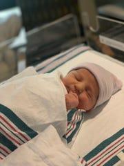 Mamie DeSantis, daughter of Gov. Ron DeSantis and his wife Casey, was born at 7 lbs 4 oz.
