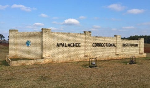 Apalachee Correctional Institution in Sneads, Fla.