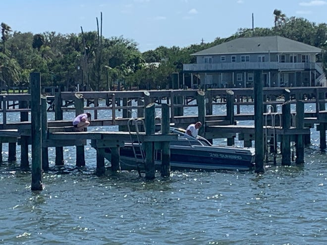 On a normal Sunday in March, Sebastian's waterfront would be bustling. On March 29, 2020, amid a COVID-19 threat, residents were busy outside, but restaurants and breweries offered takeout only. Some were closed.