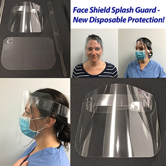 A plastic packaging manufacturer recently began producing face shields at its plants in Canada and New York and donated 1,000 of the shields to local fire departments.