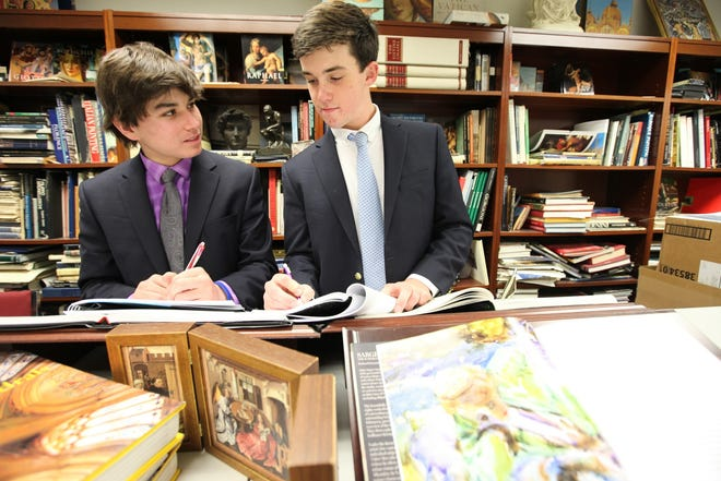 """The visual and performing arts are a vital part of the curriculum at Fordham Preparatory School, which is built on the concept of """"cura personalis,"""" or caring for the whole individual."""