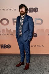 """John Gallagher Jr. attends the premiere of HBO's """"Westworld"""" Season 3 at TCL Chinese Theatre on March 5, 2020 in Hollywood."""