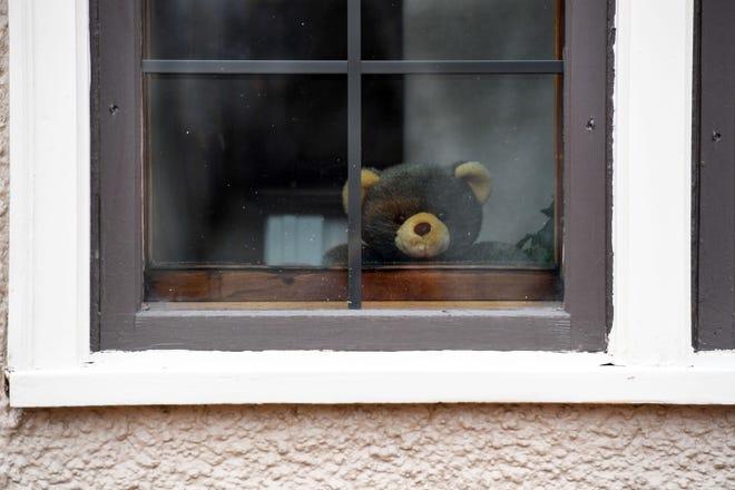 Coronavirus: 'Teddy Bear Hunts' turn bored kids to scavenger hunters