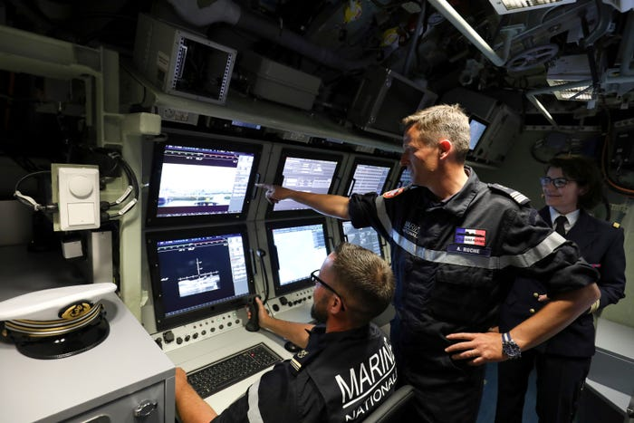 As nations grapple with coronavirus, submariners might have no idea a pandemic is going on