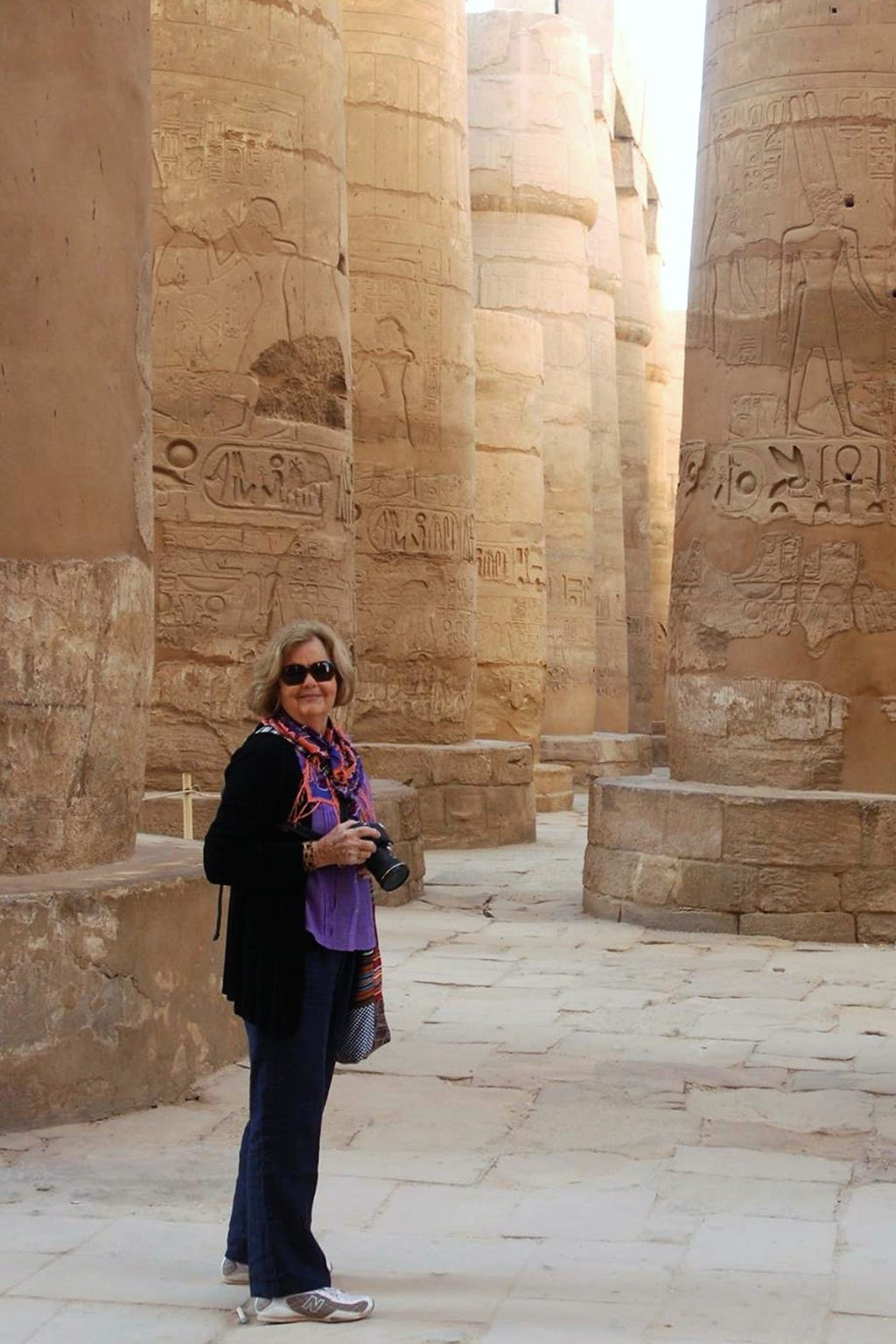 Ellie Hamby in Egypt