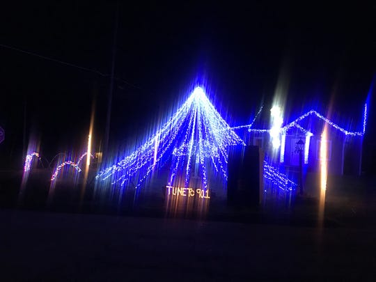 The Mabee family, on the corner of Ford and Glenwood Roads in Vestal, has resurrected its popular Christmas display to help spread cheer and take the community's mind off the coronavirus.