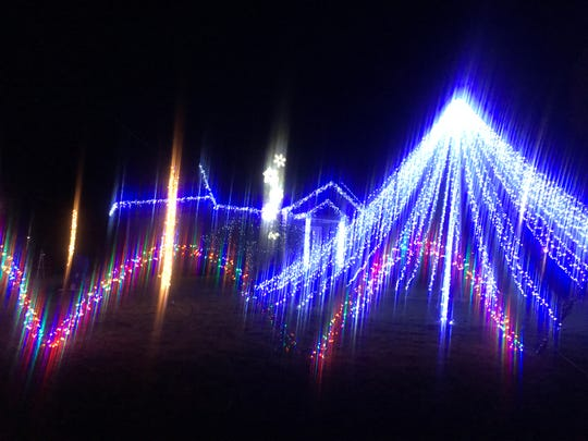 The Mabee family, on the corner of Ford and Glenwood Roads in Vestal, has resurrected its popular Christmas display to help spread cheer and take the community's mind off the coronavirus. It's open every day from 7:30 to 10 p.m.