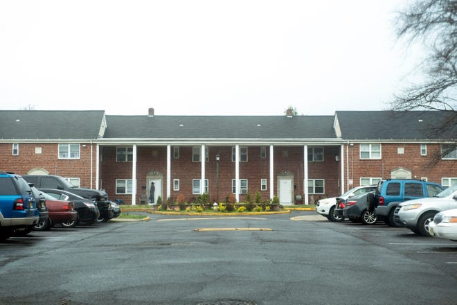 Penn Garden apartment complex in Pennsauken, N.J.