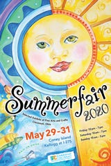 The 2020 Summerfair poster by Anne Shannon.