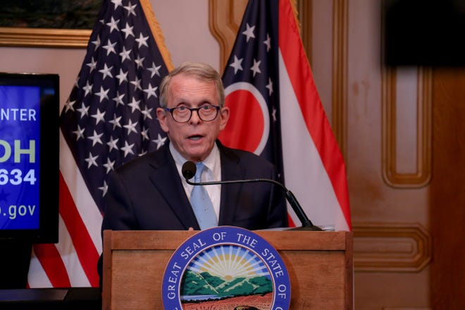 Ohio Gov. Mike DeWine says he can't exempt Cincinnati from the order closing bars early and won't lift it statewide.