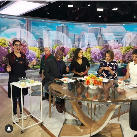 Katie Stilo on the Today Show.