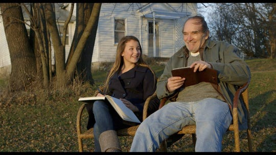 L-R Rylie Behr as Cori and Tom Bower as Walter