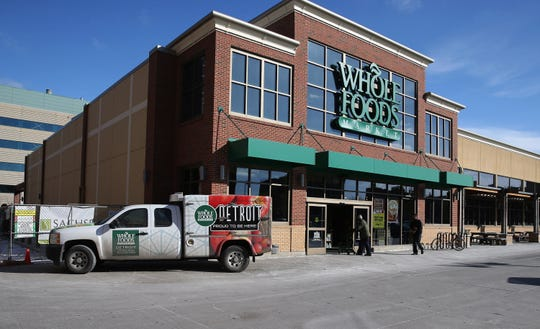 The Whole Foods Market in Midtown Detroit.