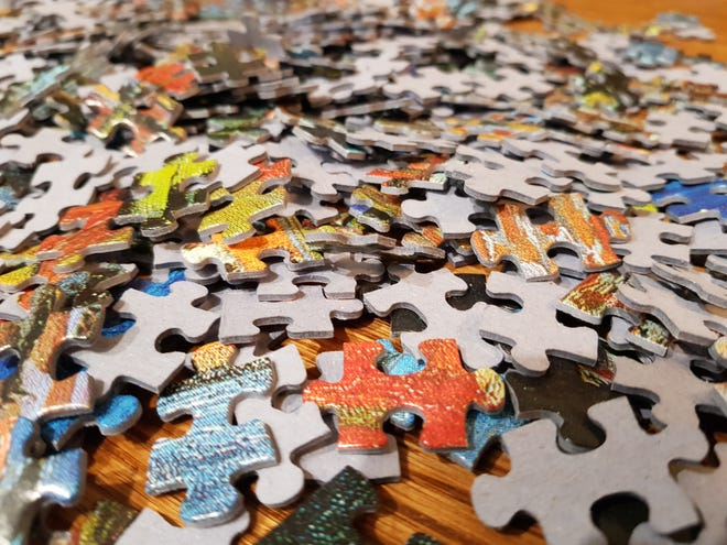 Jigsaw puzzles have been in high demand as people stay at home.