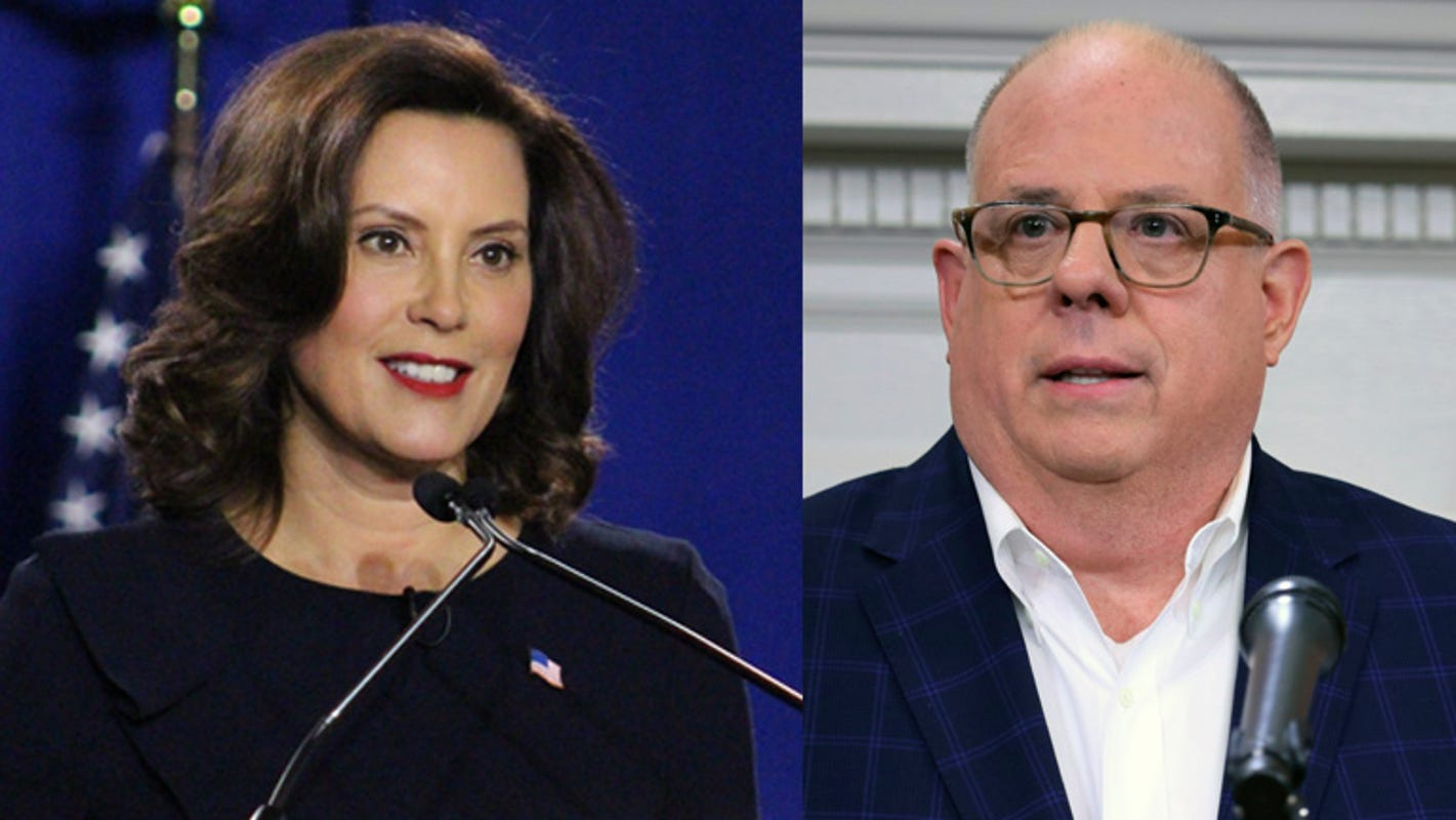 Whitmer joins GOP governor from Maryland in joint coronavirus plea to Washington