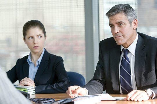 "Anna Kendrick and George Clooney in ""Up in the Air."""