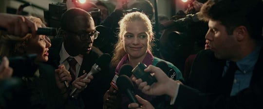 "Margot Robbie in ""I, Tonya."""