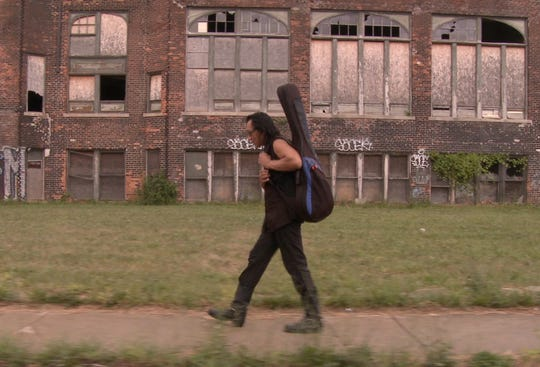 "Rodriguez in ""Searching for Sugar Man."""