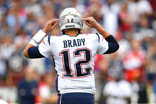 Tom Brady will wear No. 12 with the Buccaneers.
