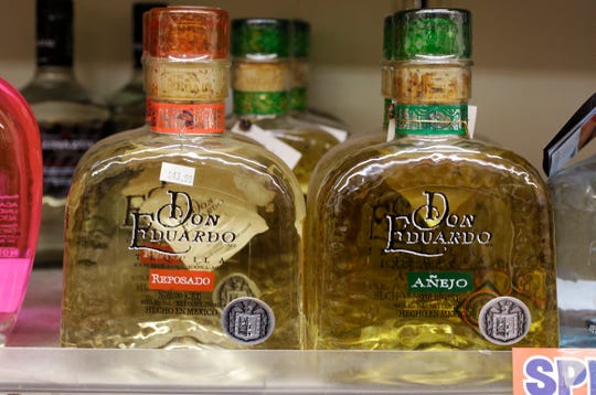 Spirits like tequila, gin and pre-mixed cocktails led the way, with sales jumping 75% compared to the same period last year.