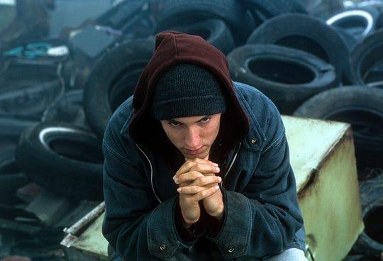 """Eminem in """"8 Mile."""""""