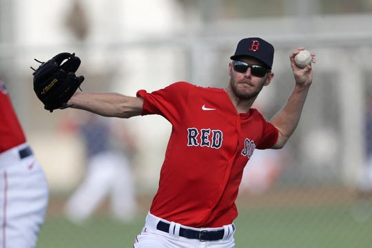 Boston Red Sox starting pitcher Chris Sale successfully underwent surgery on his left elbow.