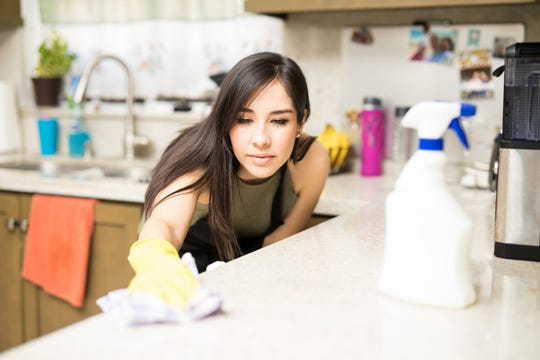 Clean and disinfect the surfaces in your home with these CDC recommendations.