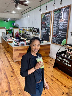 T'Keyah Williams of Ridgeland owns Mama Nature's Juice Bar in Ridgeland along with business partner, Michael McElroy of Ridgeland. The U.S. Small Business Administration Mississippi District Office recently named Williams as the 2020 Young Entrepreneur of the Year.