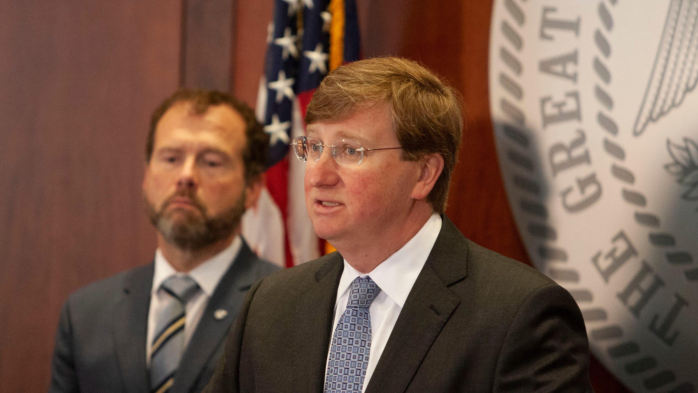 WATCH: Gov. Tate Reeves addresses Mississippi coronavirus pandemic