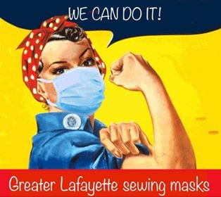 Greater Lafayette Sewing Masks, a group of volunteers, started as a Facebook group rallying around making face masks during the coronavirus outbreak.