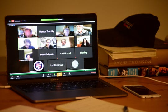 Mansfield City Council took social distancing to a new level Tuesday by holding their meeting over Zoom.