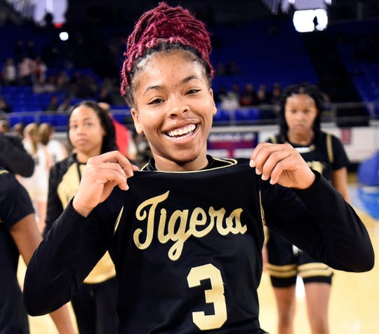 Se'Quoia Allmond is a junior at Whitehaven