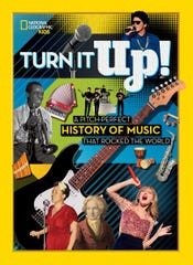 """""""Turn It Up! A Pitch-Perfect History of Music That Rocked the World"""" by Joel Levy."""