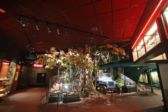 The empty rain forest area of the Milwaukee Public Museum in Milwaukee is shown on Monday, March 30, 2020. The stay-at-home order to stop the spread of the coronavirus has caused scores of local businesses and institutions to close.