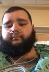 Jakob Barnes has been recovering from COVID-19 at IU Health Ball Memorial Hospital.